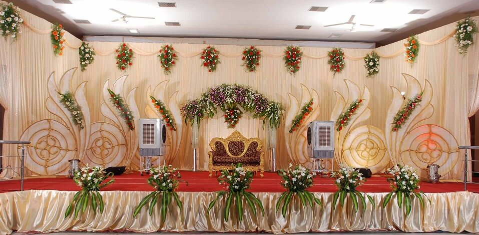 Trendy south indian wedding decoration ideas d for Home decor ideas for indian wedding